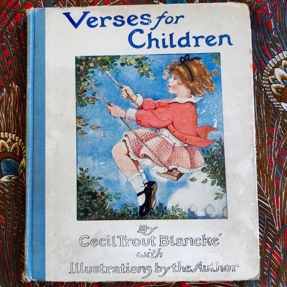 Versus for Children by Celia Trout Blancké 1920
